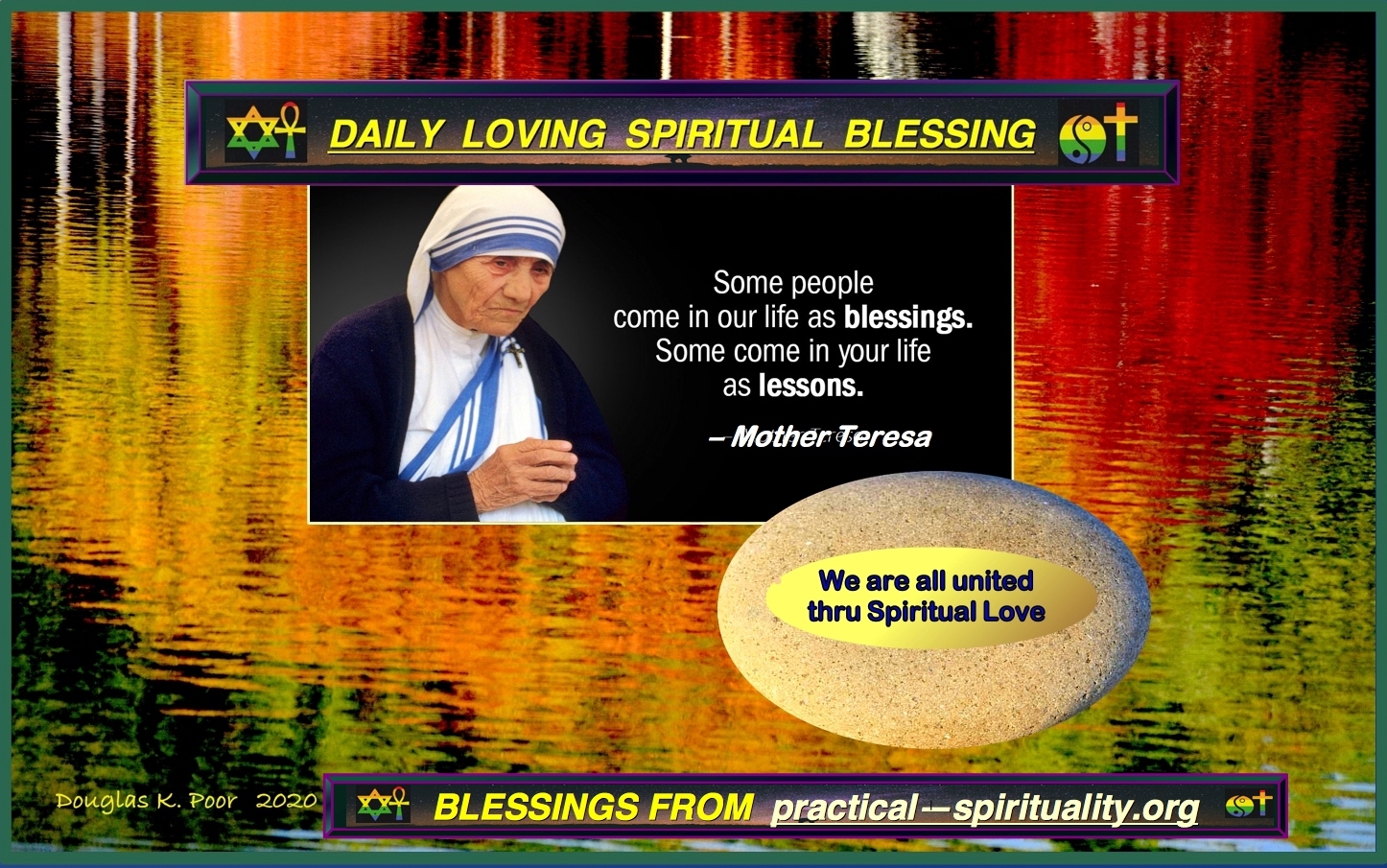 PRACTICAL SPIRITUALITY IS A FREE SERVICE OF dd-TV.com by Douglas K. Poor with Komposer
