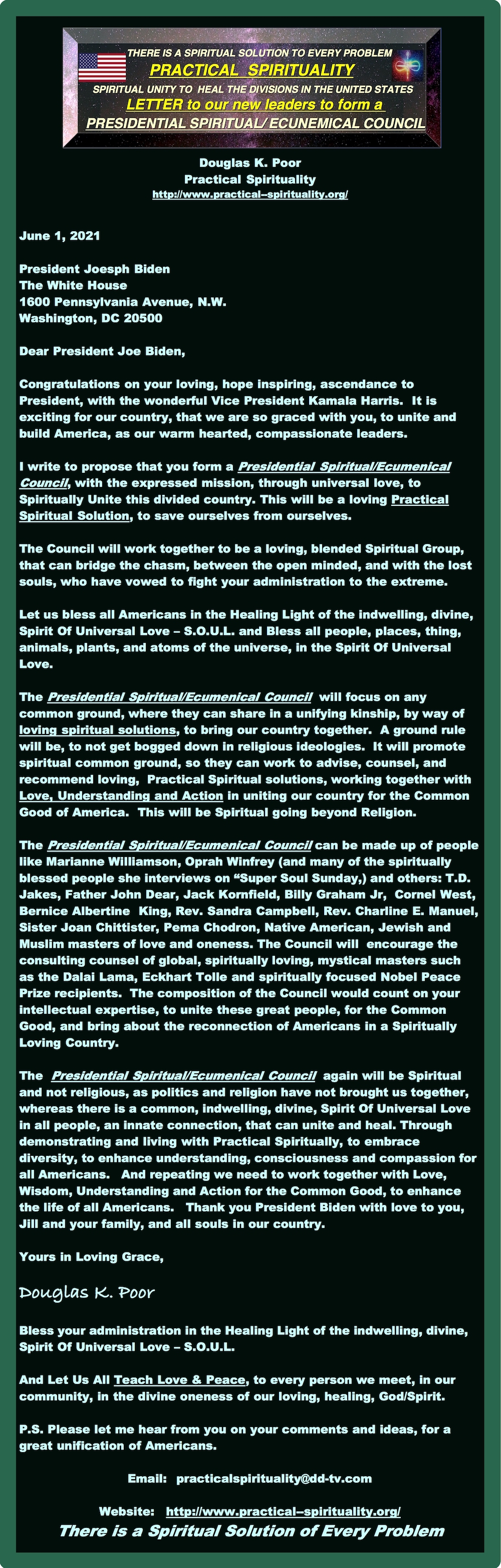 =========================================================LETTER-FOR-PRESIDENTIAL-SPIRITUAL-ECUNEMICAL-COUNCIL===============================================================LETTER-FOR-PRESIDENTIAL-SPIRITUAL-ECUNEMICAL-COUNCIL